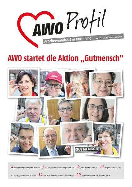 """AWO startet die Aktion """"Gutmensch"""""""